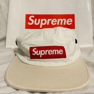 Supreme Two Tone White Cap // SS19